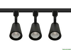 LED Track Light Head Black 3 PACK 4000K Natural White Dimmable,9W|CRI90+|600LM|40° Beam|Adjustab ...