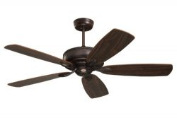 Emerson Ceiling Fans CF901ORB Prima Energy Star Ceiling Fan With Wall Control, Light Kit Adaptab ...