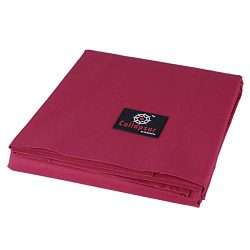 7/8/9FT Heavy Duty 600D Polyester Canvas Billiard Pool Table Cover(7 Colors Available) (Wine Red ...