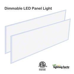 LED 2×4 FT Panel Light, Allsmartlife Flat LED Troffer Panel Light Dimmable 0-10V, 60W, 6215 ...