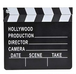Rhode Island Novelty 7″x 8″ Hollywood Movie Clapboard | One Per Order