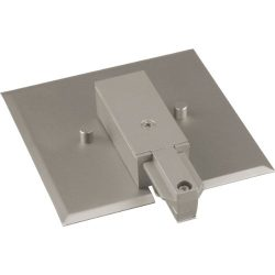 Progress Lighting P8745-09 End Feed with Flush Canopy, Brushed Nickel