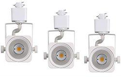 Cloudy Bay LED Track Light Head,CRI90+ Day Light 5000K Dimmable,Adjustable Tilt Angle Track Ligh ...