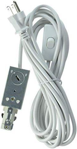 Lithonia Lighting LTLECS M6 Linear White Track Lighting Live-End Power Feed (Renewed)