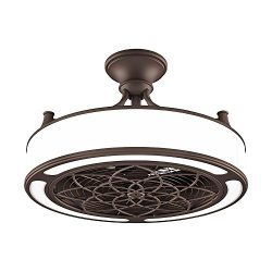 Anderson 22 in. Indoor/Outdoor Bronze ceiling fan with light