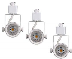 Cloudy Bay LED Track Light Head,CRI90+ Day Light 5000K Dimmable,Adjustable Tilt Angle Track Ligh ...