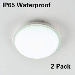 "LED Ceiling Light, LED Wall Lamp, Surface Flush Mount 15W Ceiling Lights Fixture, 6.5"" Rou ..."