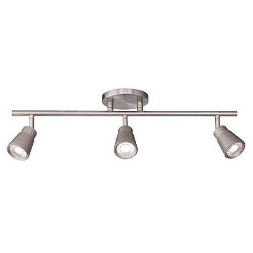 WAC Lighting TK-180503-30-BN Solo Energy Star LED Fixed Rail, 3 Lights,