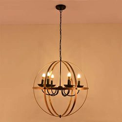 Beyonds Rustic Brass Chandelier Pendant Lighting – 2019 6 – Light E26 Industrial Vin ...