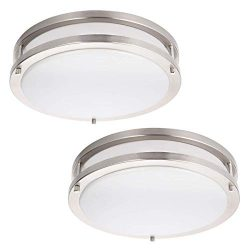 Drosbey 36W LED Ceiling Light Fixture, 13in Flush Mount Light Fixture, Ceiling Lamp for Bedroom, ...