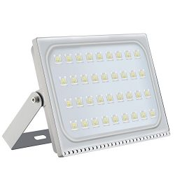 LED Flood Light Chunnuan, 200W,17000LUMEN 6000-6500K (Cold White), IP65 Waterproof,Outdoor Secur ...