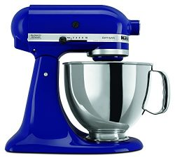 KitchenAid RRK150BU  5 Qt. Artisan Series – Cobalt Blue (Renewed)