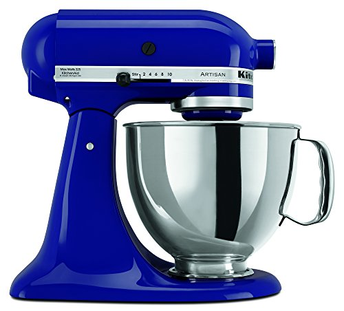 KitchenAid RRK150BU  5 Qt. Artisan Series – Cobalt Blue (Renewed)