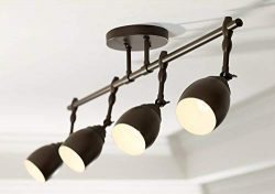 Pro Track Elm Park 4-Light Oiled Rubbed Bronze Track Fixture – Pro Track