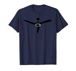 Cool Black Ceiling Fan Blades Print Gift T-Shirt