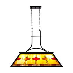 CO-Z Hanging Pool Table Light Fixture for Game Room Beer Party, Ball Design Metal Billiards Ligh ...
