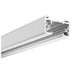 Lithonia Lighting Black Linear Track Lighting Section, , Matte White (Renewed)