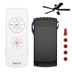 Ceiling Fan Remote Control Kit, Wireless Remote Control for Ceiling Fan Lights