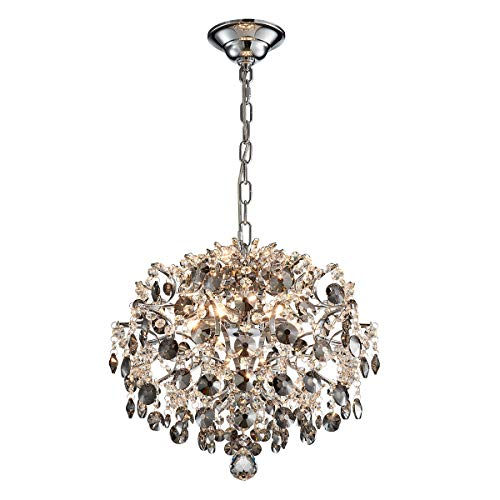 ANJIADENGSHI Modern Chandelier Crystal Spherical Lighting Ceiling Light Fixture Lamp for Dining  ...