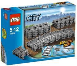 LEGO City Flexible Tracks 7499 Train Toy Accessory