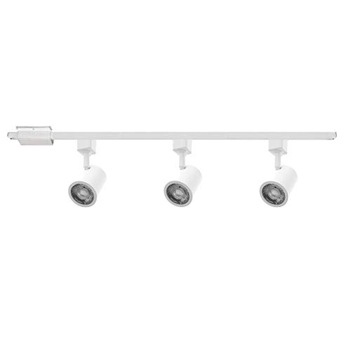 WAC Lighting H-8010/3-30-WT Charge LED Energy Star 3 Light Track Kit, White