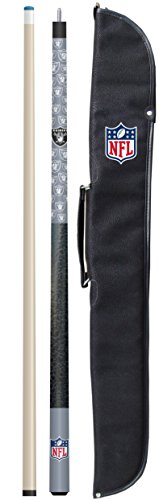 Imperial Officially Licensed NFL Merchandise: 57″ 2-Piece Billiard/Pool Cue with Soft Case ...