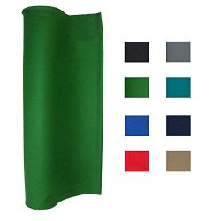 haxTON Pool Table Felt Performance Grade Billiard Cloth for 7, 8 or 9 Foot Table Choose from Lig ...