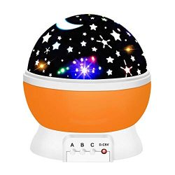 ATOPDREAM Xmas Birthday Presents for 2-10 Year Old Girls, Star Night Lights for Kids Toys for 2- ...