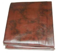 Iszy Billiards 9 Foot Heavy Duty Fitted Leatherette Pool Table Billiard Cover Burgundy