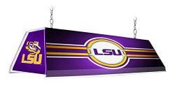 Shop Grimm NCAA 46″ Edge Glow Billiards Pool Table Light – Made in USA (LSU Louisian ...