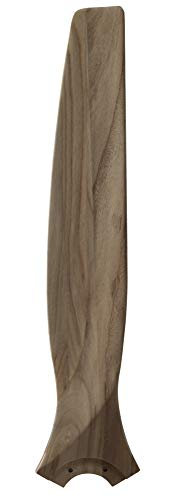 Fanimation B6720N Spitfire 30″ Carved Wood Blade Set of 3, Natural