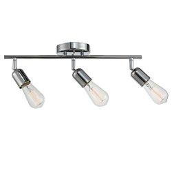 Globe Electric 59644 Pearson 3 Track Lighting, Chrome