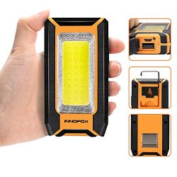 Rechargeable Work Light 40W 1500Lumens LED, Magnetic Base & Hanging Hook, 3 Lighting Modes,  ...