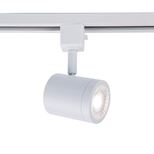 WAC Lighting L-8010-30-WT Charge Track Head LED Line Voltage, Single, White