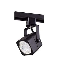 Track lighting heads, Laborate Lighting head light, kitchen light fixtures ceiling, (1, MATTE BLACK)