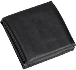 Black 8′ Heavy Duty Leatherette Pool Table Cover – 8 Foot Billiard Table Cover