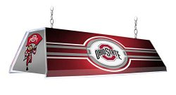 NCAA 46″ Edge Glow Billiards Pool Table Light – Made in USA (Ohio State University B ...